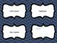 EDITABLE Classroom Jobs/Tasks Card Template