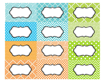 EDITABLE Classroom Labels for Supply Bins, Book Genres, and File Cabinets