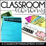 Classroom Economy: Classroom Management-Class Economy Jobs & Money