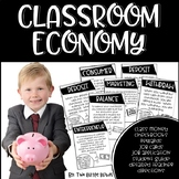 Classroom Economy: Classroom Management-Class Economy Jobs