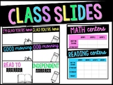 Classroom Slides BUNDLE!!