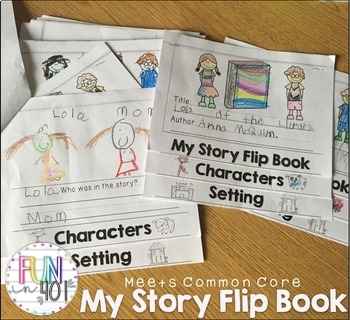 Common Core: My Story Flip Book! (Editable)