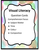 EDITABLE Comprehension Task Cards - Visual Literacy