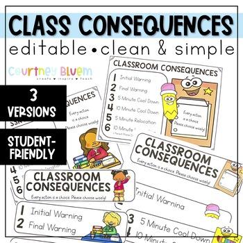 EDITABLE Consequences - Color Theme