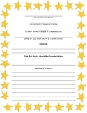 EDITABLE Constellation Myth Research Packet