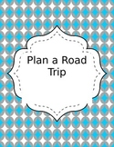 EDITABLE! Consumer Math - Plan a Road Trip