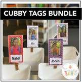 EDITABLE Cubby Tags Bundle