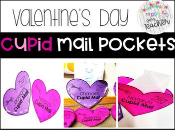 EDITABLE Cupid Mail Valentine's Pocket
