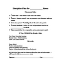 EDITABLE DISCIPLINE PLAN TEMPLATE FOR MULTIPLE GRADES/SUBJ