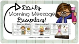 EDITABLE Daily Message Display!