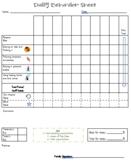 EDITABLE Daily Progress Report - Behavior Sheet