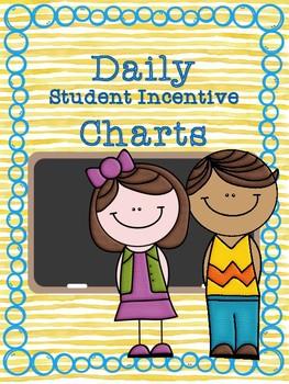 EDITABLE Daily Student Goal Chart
