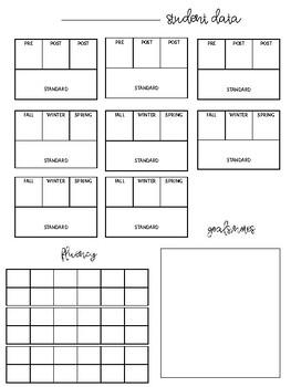 EDITABLE* Data Sheets