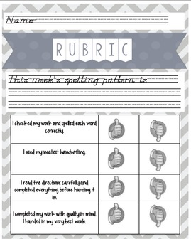 EDITABLE Differentiated Word Work: Cubing Activity for Any Word List!