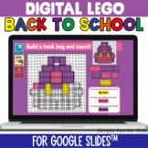 EDITABLE Digital LEGO Back to School Build & Count Challen