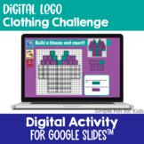 EDITABLE Digital LEGO Clothing Build & Count Challenge Goo