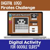 EDITABLE Digital LEGO Pirates Build & Count Challenge Goog