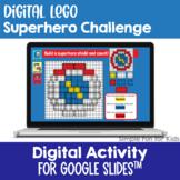 EDITABLE Digital LEGO Superhero Build & Count Challenge Di