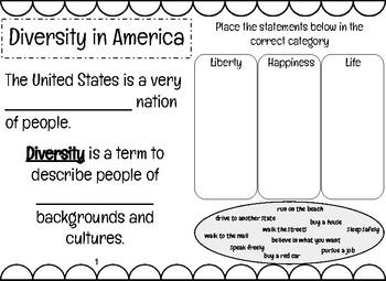 EDITABLE Diversity Booklet