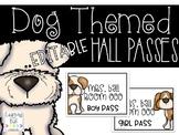 EDITABLE Dog Hall Passes!