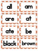 EDITABLE Dolch Sight Words Pre-Primer to 3rd grade Word Wall Cards