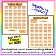 EDITABLE! Drag & Drop SEATING CHART - Starting Layout of 35 Students - Orange