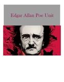 EDITABLE Edgar Allan Poe Unit