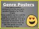 EDITABLE Emoji Genre Posters