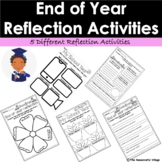EDITABLE End of Year Reflection Activities - Summer Activities - Graduation