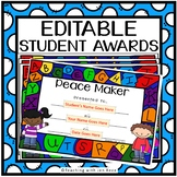 EDITABLE End of Year Student Awards