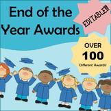 EDITABLE!!! - End of the Year Awards | Fun Awards