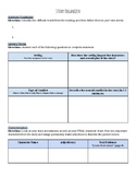 EDITABLE FOR ANY STORY: Author's Choice Organizer includes plot, characters, etc