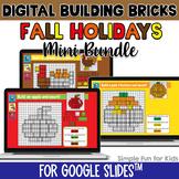 EDITABLE Fall Holidays Seasonal Digital LEGO Challenges |