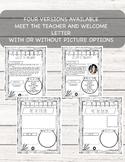 EDITABLE Farmhouse Meet the Teacher and Welcome Letter