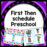 EDITABLE First/Then schedule for primary grades and special education
