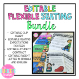 EDITABLE Flexible Seating BUNDLE