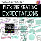 EDITABLE Flexible Seating Expectations FREEBIE