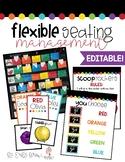 EDITABLE Flexible Seating Management