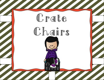 EDITABLE Flexible Seating Stations Posters