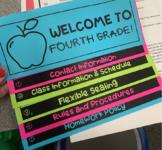 EDITABLE Flipbook- meet the teacher/open house