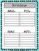 EDITABLE Forms for the ENTIRE year! {Turquoise Chevron}