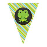 EDITABLE || Frog Pennant Banner || Frog Theme Classroom