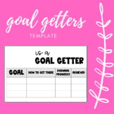 EDITABLE GOAL GETTERS FORMS