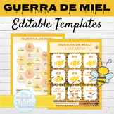 EDITABLE Game Template Guerra de Miel
