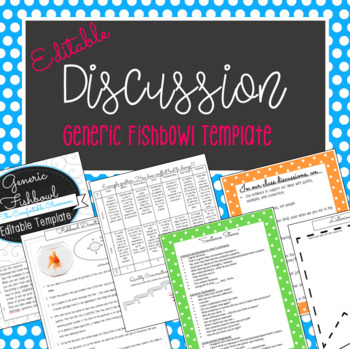 Fishbowl Discussion Teaching Resources Teachers Pay Teachers