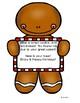 EDITABLE Gingerbread Cookie Scavenger Hunt