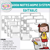 EDITABLE Good Notes Home - Parent Communication