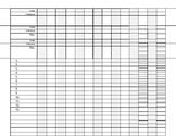 EDITABLE: Grade Record Sheet
