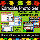 EDITABLE Graduation Photo Mats for Class or Individual Photos 50% off 48 hours