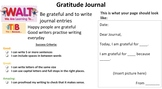 EDITABLE Gratitude Journal with Learning Intention and Suc
